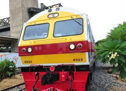 中国列车曼谷运行
