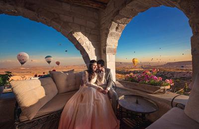 全球最美婚纱照来袭 甜蜜浪漫另人叹为观止(组图)