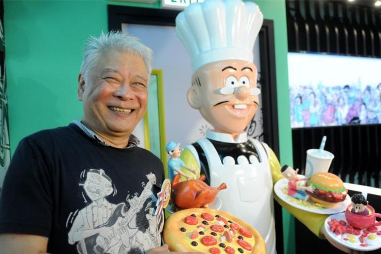 香港首家老夫子主题餐厅开业