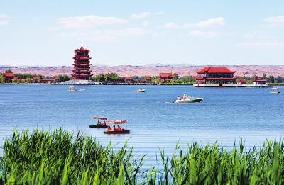 高台大湖湾生态文化旅游景区.