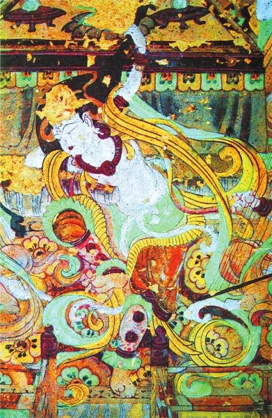 反弹琵琶舞伎 敦煌壁画
