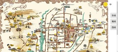 《甘肃在什么地方》,接下来,她将把文化创意的范围扩展到整个丝绸之路图片