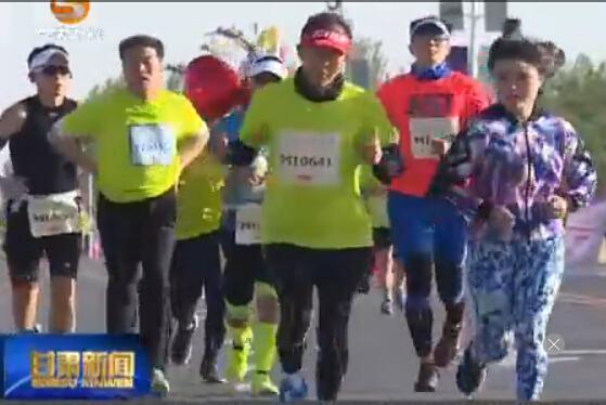 2016丝绸之路敦煌国际马拉松激情开跑