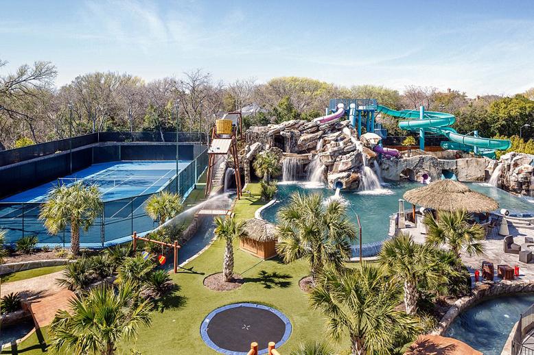 美豪华庭院售价2亿人民币 自带水上乐园(组图)