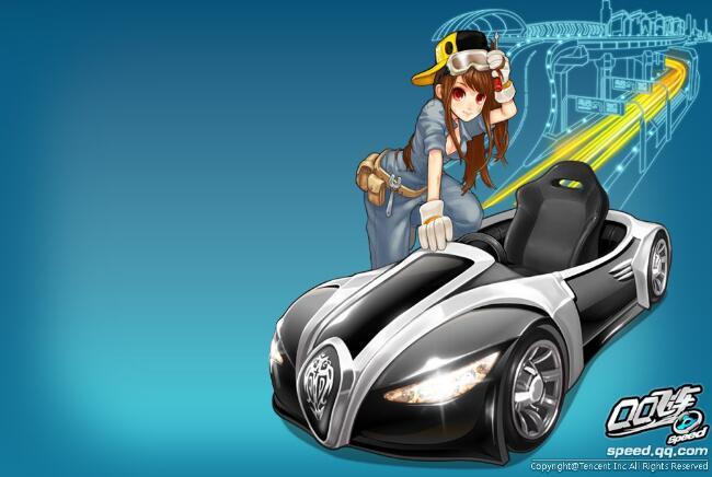 《QQ飞车》原创动画大电影名称已确认