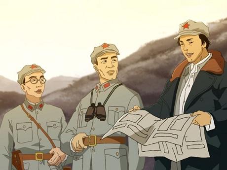 1部动画片 让你知道中国红军有多酷