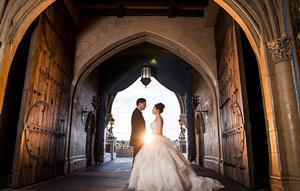渴望一场王子与公主般的婚礼?那就去迪士尼吧(组图)