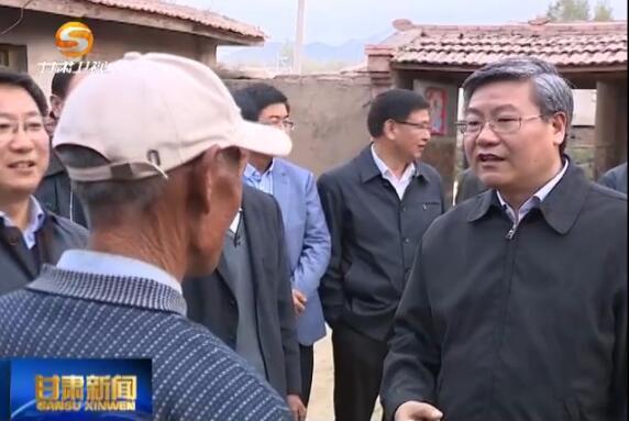 李荣灿:切实巩固提升脱贫成果