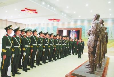 白银会宁红军长征胜利纪念馆举行提升布展开馆仪式(图)