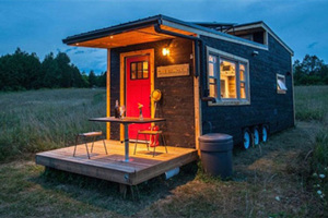 加杂志打造移动房车设施一应俱全可供两人居住(组图)