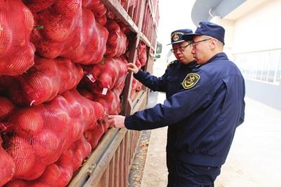 综合保税区生鲜货物通关入区