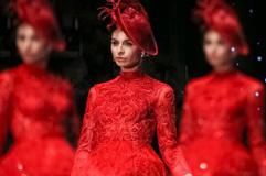 国际婚纱礼服周 展现华丽礼服魅力