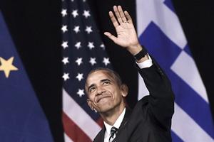 """""""告别外交"""":奥巴马结束对希腊访问"""