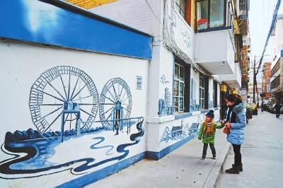 兰州市白银路街道完成14条背街小巷基础整治(图)