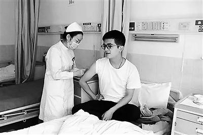 120余小时爱心旅程 甘肃志愿者赖鑫点亮他人生命希望(图)