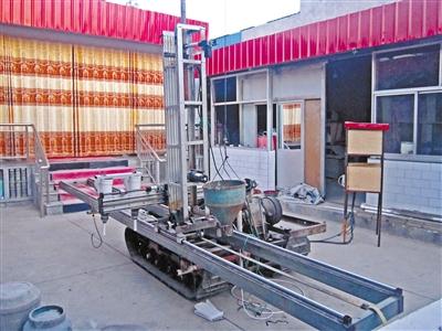 平凉静宁果农发明建筑打印机 水泥做原料 3D打印院墙