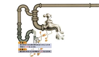兰州市城市居民污水处理费收费:市民建议不涨或少涨