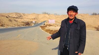 为了过往车辆安全通行 白银靖远七旬老人贾汝环义务扫雪22年(图)