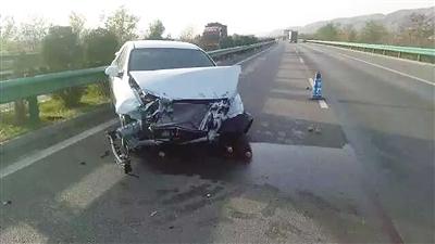 """平凉车主刚买3个月的车高速上出事 """"轮毂碎裂""""惹的祸?(图)"""