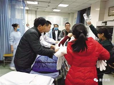 男子遇车祸命悬一线 兰州武威两地医院联手救治挽回一命(图)