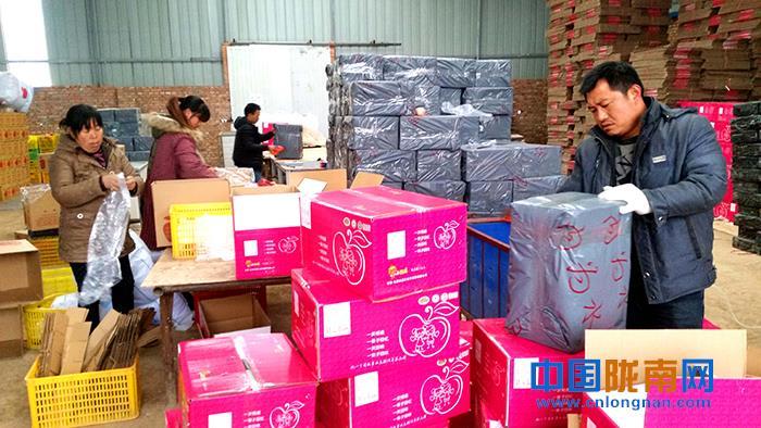 陇南礼县鼓励支持电商网店参与精准扶贫(图)
