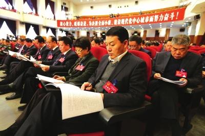 兰州市十六届人大一次会议隆重开幕 李荣灿出席栾克军作政府工作报告