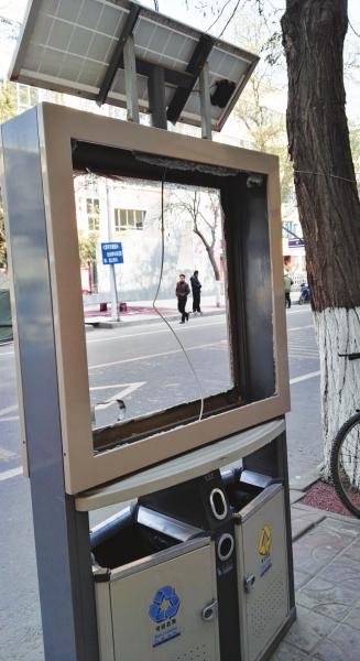 兰州:灯箱受伤谁来治治