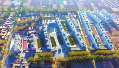 张掖高台村民享受和城里人一样的居住环境(图)