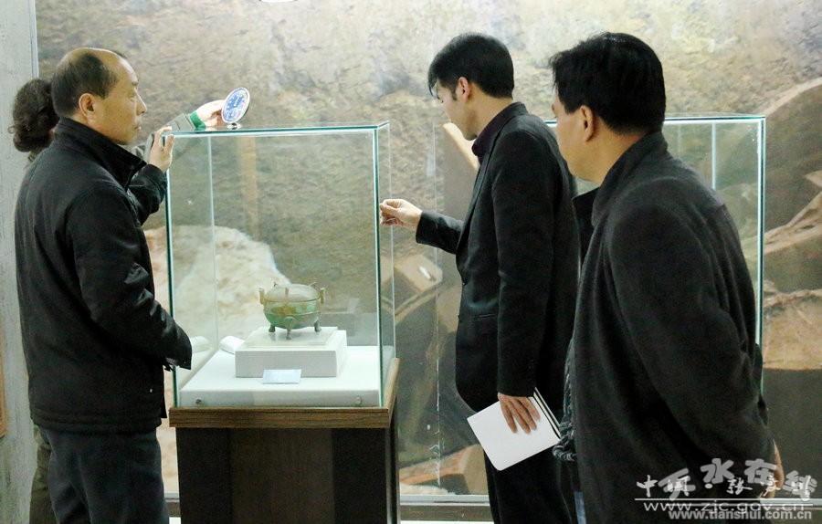 天水市文物局考核张家川2016年度文物工作(图)