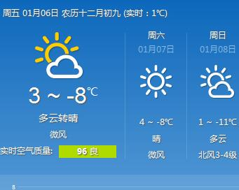 陇原大部将迎降雪 兰州市低温或降至-11℃