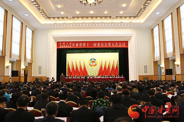 政协甘肃省十一届五次会议举行第二次全体会议 委员代表真诚建言(图)