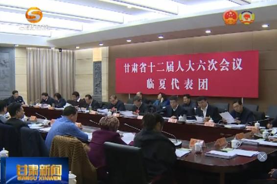 代表委员建言 省人大代表继续审议政府工作报告