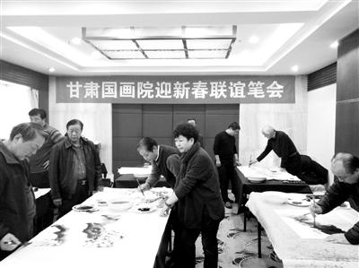 《画说甘肃》书画集14日在兰首发