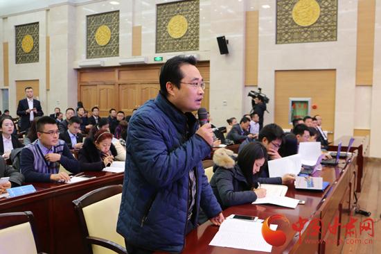 中国县域经济报甘肃站记者提问