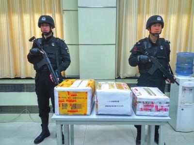 """兰州七里河警方破获""""1·12""""特大运输毒品案 缴获毒品海洛因18.6公斤"""