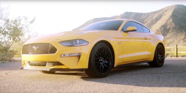 新款福特Mustang官图