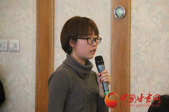 中国青年报甘肃站记者记者提问