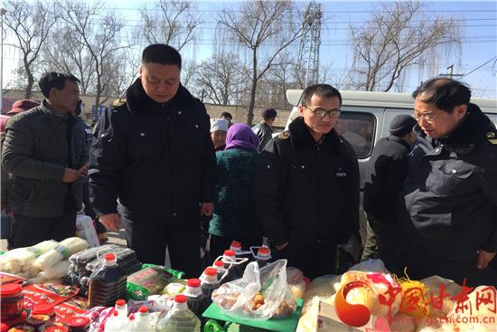 """庆阳西峰彭原镇: 确保群众""""舌尖上的安全"""""""