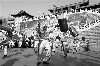 春节五天乐每天不重样 社火表演展现兰州不一样的年味