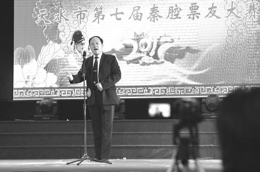 天水市第七届秦腔票友大赛在市文化馆开赛(图)