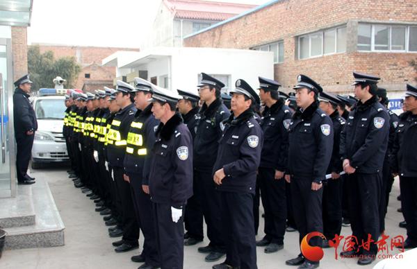 """天水市张家川县公安局圆满完成龙山镇""""上九""""安保任务"""