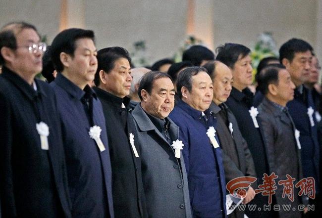 天水籍一代学术宗师霍松林追悼会在西安举行(组图)