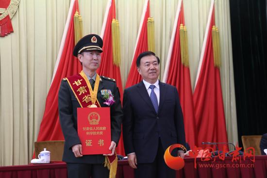 2016年度甘肃省科技奖励大会在兰举行 王三运出席并颁奖(图)