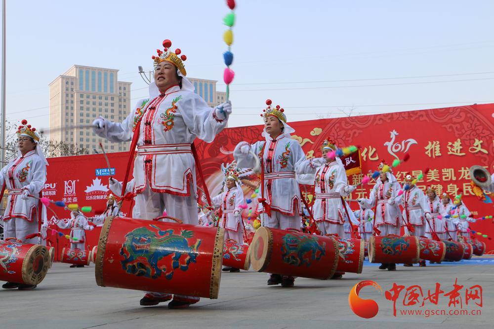 兰州市元宵节:全民健身民俗社火闹元宵 喜气洋洋过佳节
