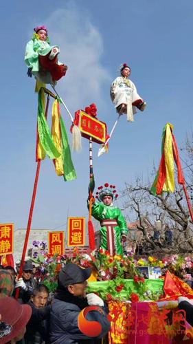 温暖中国丨庆阳西峰闹社火 欢欢喜喜过佳节(组图)