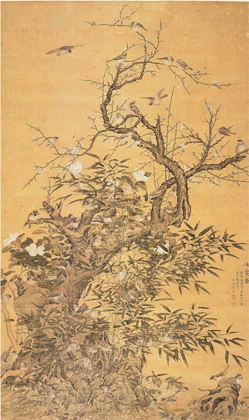 彩羽献瑞:从翎毛画看古画中的珍禽