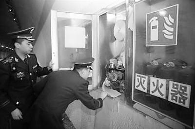 兰州消防支队彻查城市隧道隐患