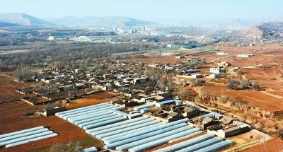 定西渭源路园镇东湾村助推草莓产业发展