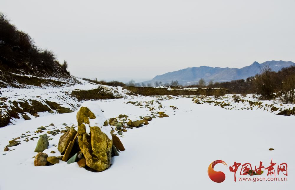 春雪后的渭源县渭河源景区风景如画【高清组图】