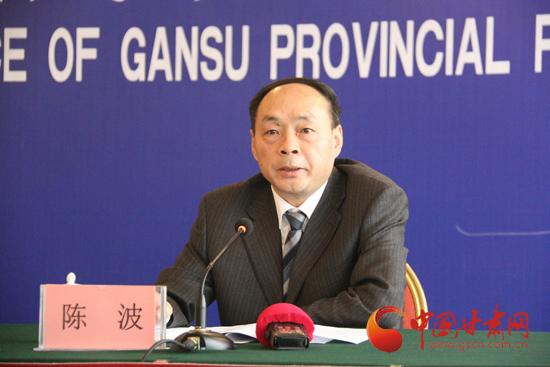 甘肃省发展和改革委员会副主任陈波